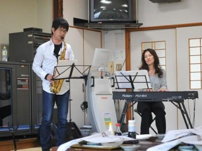 2014年5月13日 桜ラインJAZZ LIVE&巡礼行@戸倉・津の宮荘